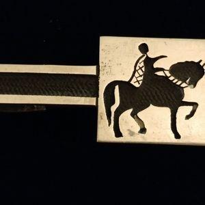 Arturos Monterey Sterling Tie Clasp